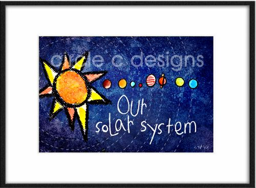 Our solar system lr